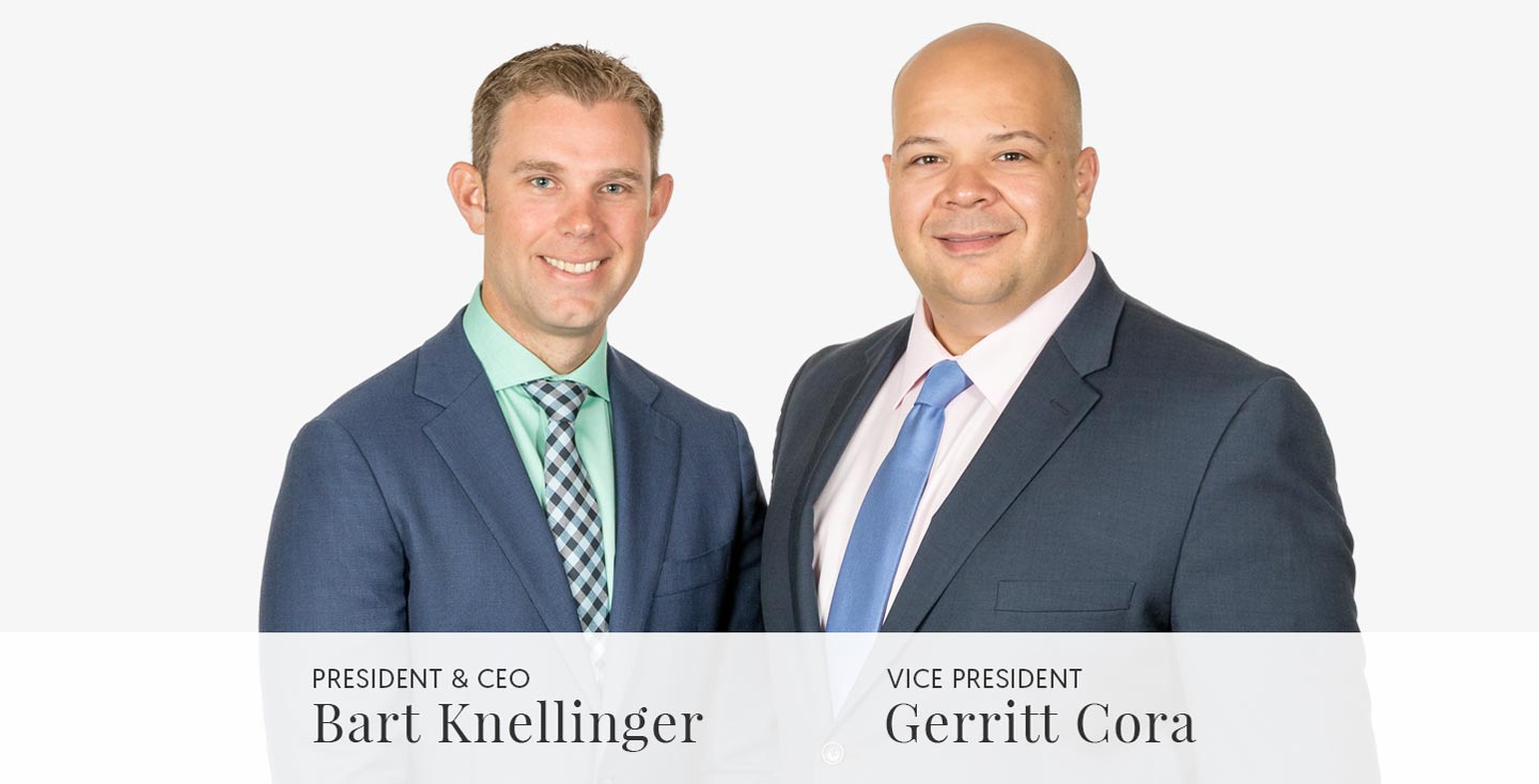 Bart Knellinger and Gerritt Cora